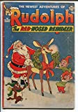 Rudolph The Red-Nosed Reindeer 1951-DC-Santa Claus-Christmas issue-G