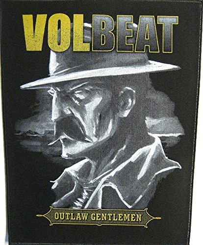 DORSO IN GOMMA VOLBEAT/BACK PATCH #1 OUTLAW SIGNORI