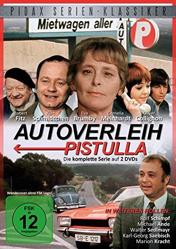 Autoverleih Pistulla / Die komplette 13-teilige Serie (Pidax Serien-Klassiker) [2 DVDs]