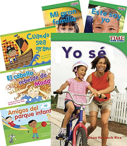 Todo sobre mí (Me, Myself, and I) 6-Book Set (Language Arts) (Spanish Edition) (How To Make A Time Mi compare prices)