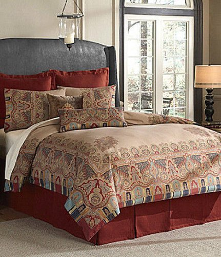 Noble Excellence Villa Treviso 6 Piece Queen Duvet Cover Set - Moroccan Medallion front-215911