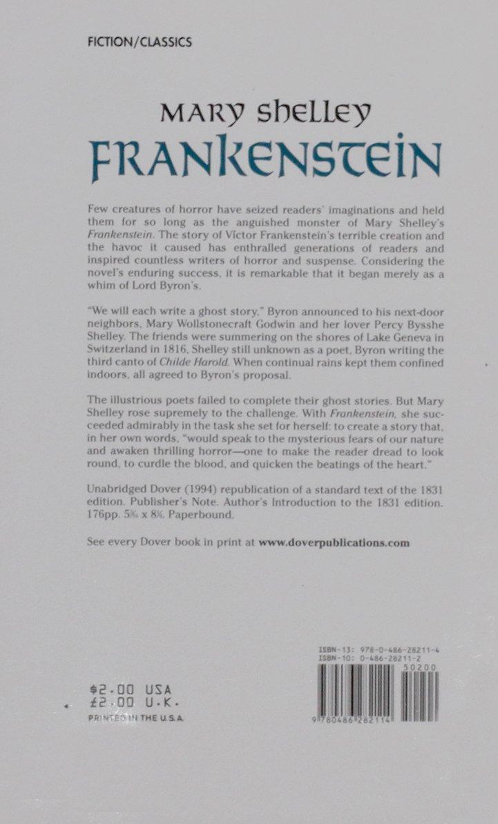 read frankenstein online free pdf