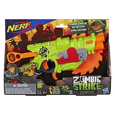 Nerf Zombie Strike Crosscut Blaster from Hasbro
