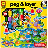 ALEX Toys Little Hands Peg & Layer Jungle