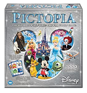 Pictopia-Family Trivia Game: Disney Edition from The Wonder Forge