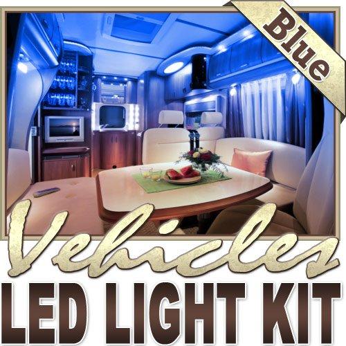 3.3' Ft Blue Motorhome Rv Night Light Remote Controlled Led Strip Lighting Smd3528 Wall Plug - Motorhome Lighting, Boat Cabin Lighting, Yacht Lighting, Compartment Lighting, Interior Lighting Led Reading Light Strip Night Light Lamp Bulb Accent Lights Smd