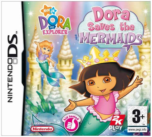 Dora Saves the Mermaids (Nintendo DS)