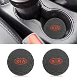 2 PCS Cup Holder Coaster Auto Interior Decoration Pad YOJOHUA 2.75 Inch Vehicle Travel Car Interior Accessories for for Mercedes Benz AMG