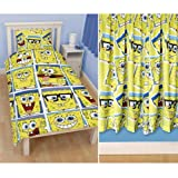 Spongebob 'Framed' Single Rotary Duvet Cover + Matching 66