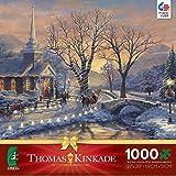 Thomas Kinkade Holiday Evening Sleigh Ride