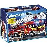 Playmobil - A1502701 - Jeu De Construction - Camion Pompiers + Echelle