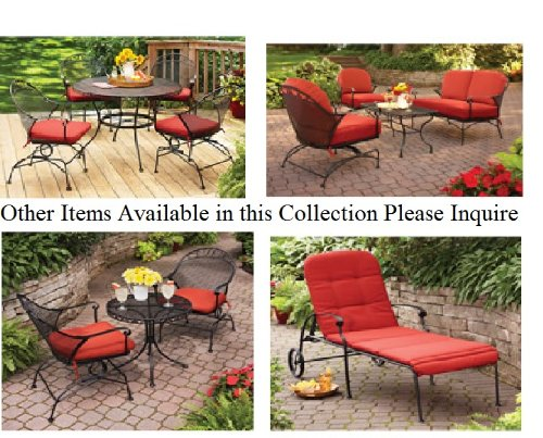 Outdoor-Wrought-Iron-Bistro-Set-W-FREE-Cushions