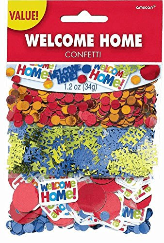 Amscan Welcome Home Value Pack Confetti Mixes, 1.2 oz., Multicolored