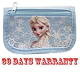 Disney Frozen Elsa Light Blue Trifold Wallet