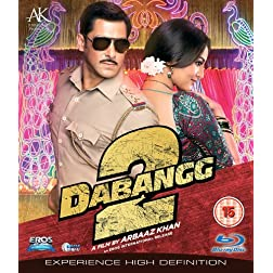 Dabangg 2 Bollywood Blu Ray With English Subtitles [Blu-ray]