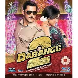 Dabangg 2 Bollywood Blu Ray With English Subtitles [Blu-ray]