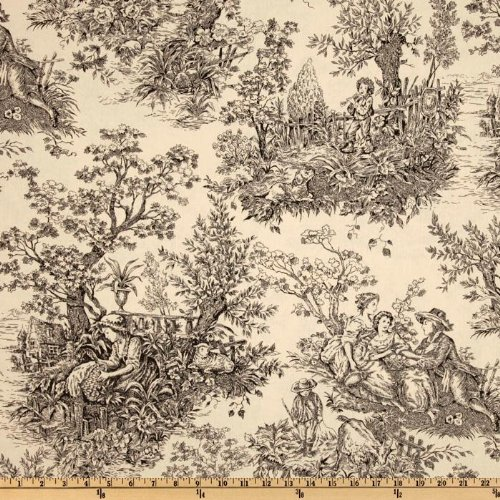 Timeless Treasures French Court 108 Quilt Backing Toile