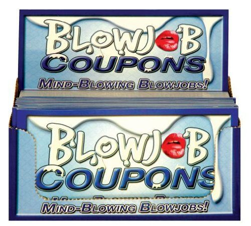 Coupons, 10 Mind Blowing Blow Jobs Display (10)
