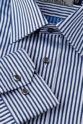 Ultimate Non-Iron Pure Cotton Stripe Shirt [T11-1079W-S]