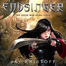 Endsinger: The Lotus War, Book Three (       UNABRIDGED) by Jay Kristoff Narrated by Jennifer Ikeda