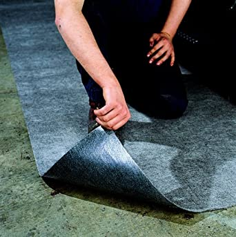 Oil-Dri Needle Punched Polypropylene Mini Garage Guard Industrial Rug