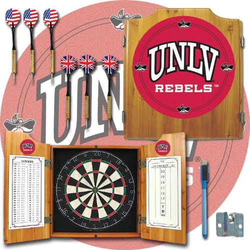 Unlv Dart Cabinet With Board