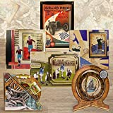 Hunkydory Crafts Gent101 Gentlemans Journey Luxury A4 Card Collection, Multicolor