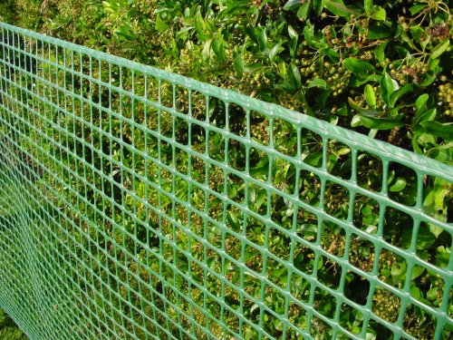 Garden Netting / Fencing Net 1m x 25m (15mm x 22mm holes) strong plastic mesh netting, polypropylene