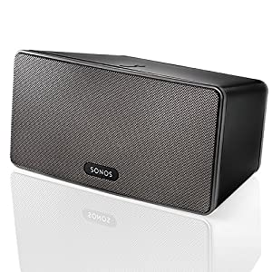 SONOS - PLAY:3 Wireless Speaker for Streaming Music (Medium) - Black