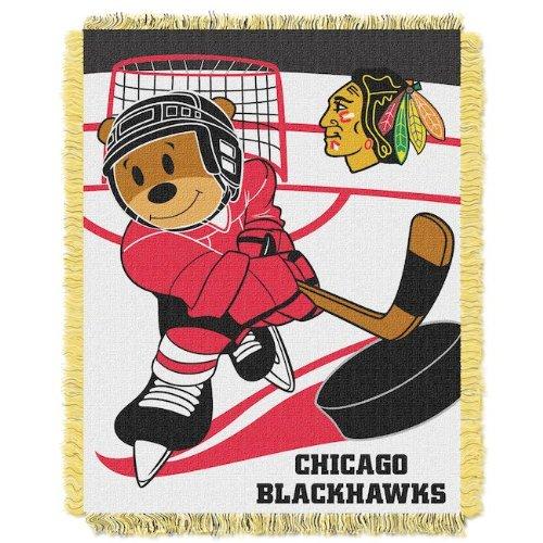 Nhl Chicago Blackhawks Baby Blanket front-486503
