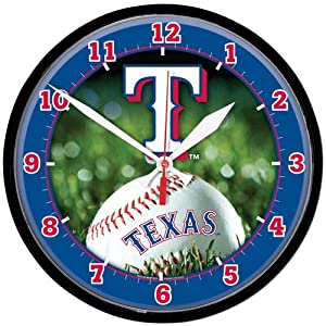 Texas Rangers Wall Clock by WinCraft