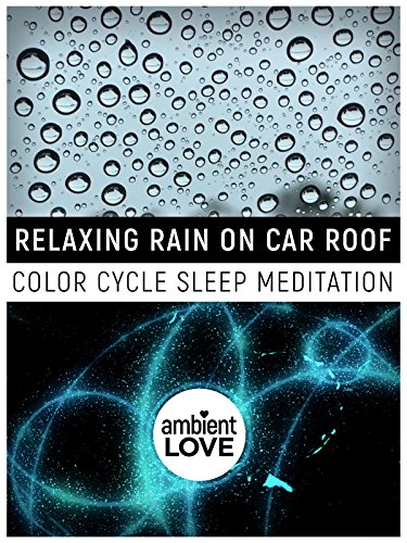 Relaxing Rain on Car Roof