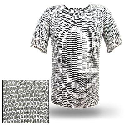 Haubergeon Chain Mail Replica Armor Long Shirt