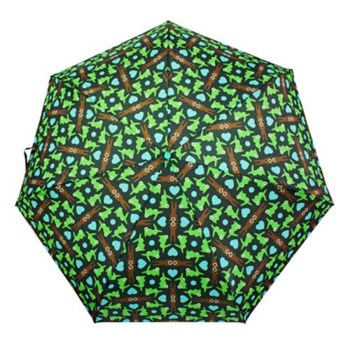 Bungalow360 Animal Print Uv Umbrellas W/ Matching Covers-Auto Open/Close (Bunny)