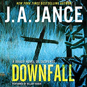 Downfall: A Brady Novel of Suspense Audiobook