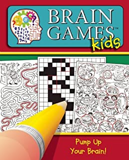 Brain Games for Kids Pump Up Your Brain! Editors of .  sc 1 st  vygogo & vygogo - a bargain crossword 25forcollege.com
