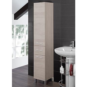 Colonna portasciugamani mobile bagno arredo design moderno due ante ...