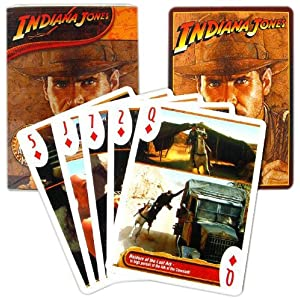 Click to buy Indiana Jones games: Playing Cards from Amazon!