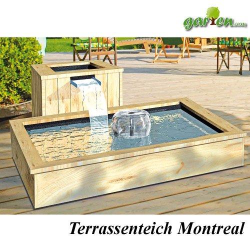 terrassenteichkomplettset suntshop. Black Bedroom Furniture Sets. Home Design Ideas