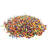 Suriel 10,000 Pcs/Set Water Beads for Spa Refill Magic Growing Jelly Bead Sensory Toys and Decor,Color Mix