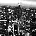 """Wachstuch Tischdecke Wachstischdecke Gartentischdecke, Abwaschbar Meterware, Länge wählbar, """"New York Skyline"""" (610-01) von MODERNO - Gartenmöbel von Du und Dein Garten"""