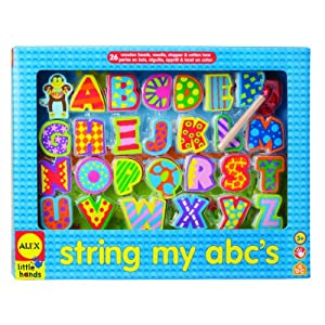 Alex Little Hands String My ABC's