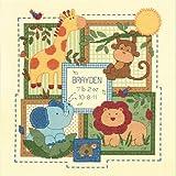 Dimensions Baby Hugs Savannah Birth Record Counted Cross Stitch Kit