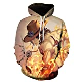 Doxi Unisex 3D Fashion Print New Trend Men Women Hoodies Sweatshirts Tracksuits Tops Anime One Piece As Thin Autumn Hood Pullover