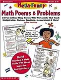 Mega-Funny Math Poems & Problems (Grades 3-6) (059018735X) by Greenberg, Dan