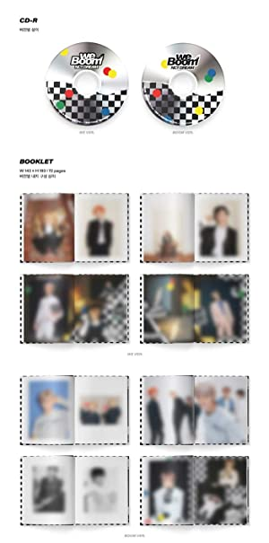 Booklet We ver Boom Card NCT Dream Photocard We Boom 3rd Mini Album Cover Circle Card CD