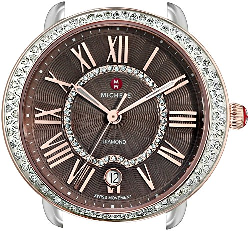 MICHELE-Womens-MW21B01D2070-Serein-16-Analog-Display-Swiss-Quartz-Two-Tone-Watch-Head