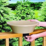 Allied Precision 14 in. Non-Heated Bird Bath Deck/Pole