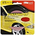 Trimbrite T1118 1/8 Pinstripe Tape Red