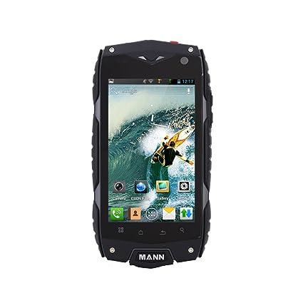 "MANN ZUG3 A18 IP68 imperméable Smartphone antipoussière antichoc robuste extérieure Android 4,3 Qualcomm MSM8212 4.0"" IPS 1Go RAM 8GB ROM 0,3 MP 5.0MP doubles caméras"